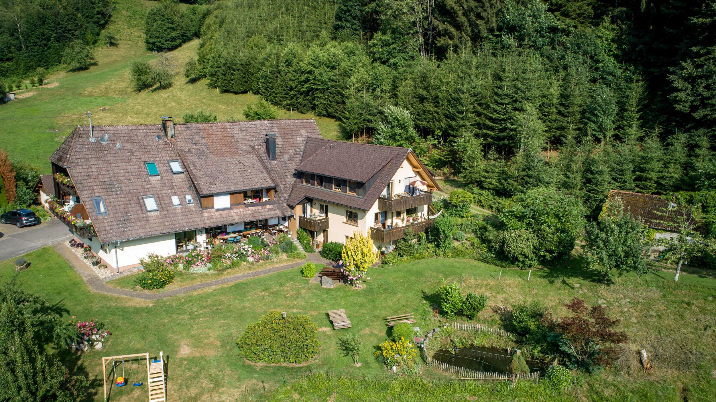 Luftaufnahme vom Stubenhof